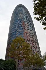 TORRE GLÒRIES (abans TORRE AGBAR) (Yeagov_Cat) Tags: torreagbar agbar torre barcelona catalunya avingudadiagonal 2005 b270 diagonal jeannouvel torreglòries glòries