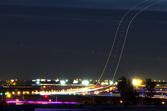 O'Hare Night Action (In explore) (MIDEXJET (Thank you for over 2 million views!)) Tags: kord ord chicagoohare chooseohare fly2ohare flyohare