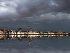 Le Havre by night (lesphotosduseb) Tags: mer seine night reflet le havre maritime normandie nuit