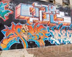 Graffiti Mural, West Bronx, New York City (jag9889) Tags: nyc newyorkcity usa streetart ny newyork art painting graffiti mural artist unitedstates bronx unitedstatesofamerica publicart thebronx 2014 westbronx allamericacity jag9889 20141018