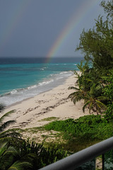 Rainbow (alancookson) Tags: beach rainbow maxwell barbados fujixm1