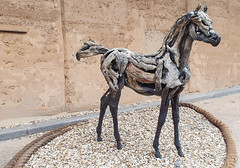horse sculpture (twinkle_moon_bunny) Tags: sculpture horse project heather driftwood eden jansch