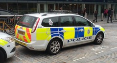 Kings Cross Police (indiaechoemergencyvehicles) Tags: london car force cross transport police kings cop british emergency 999