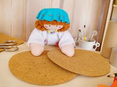 Você vai precisar de 2 discos (Ateliê Bonifrati) Tags: cute diy artesanato craft escolar pap portatreco diadascrianças bastidor bonifrati façavocêmesmo superziper portacoisas