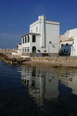 The mirror (Steenjep) Tags: holiday spain ferie menorca fornells