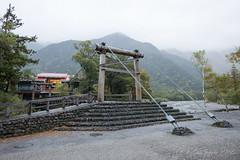 (GenJapan1986) Tags: 2014        japan nagano nikond600 travel bridge distagont225 zf2 kappabridge river azusariver mountain carlzeiss