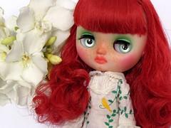 Custom Middie Blythe Furry Bella Bo para Crsitina Botallo
