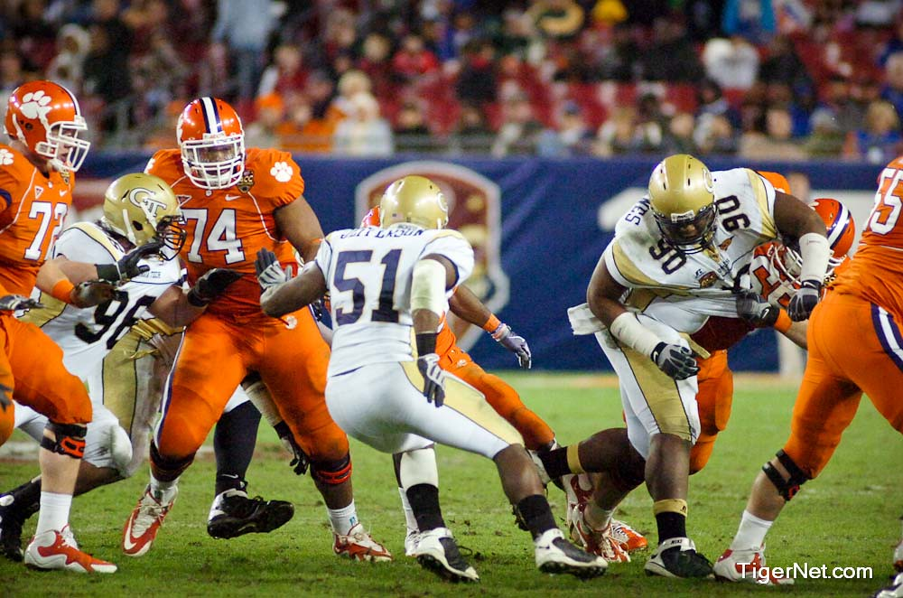 Clemson Photos: 2009, accchampionship, Antoine  McClain, Football, Georgia  Tech