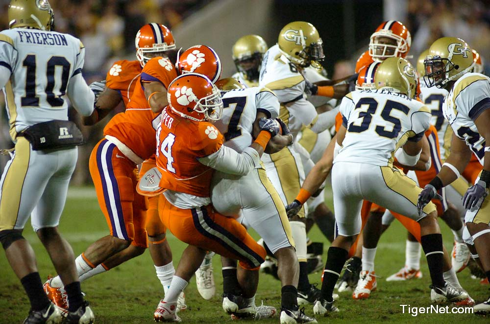Clemson Photos: 2009, accchampionship, Football, Georgia  Tech, Scotty  Cooper