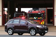 Car 12 Safety Officer (adelaidefire) Tags: fire south australian service sa metropolitan holden captiva samfs