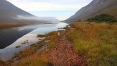 Loch Etive Foreshore (charlieinlesmahagow) Tags: life morning camping sunset mist reflection skye beauty reflections spectacular