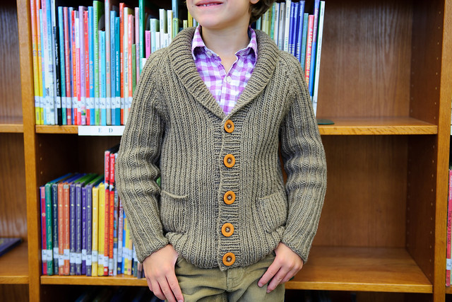 Library Cardigan by Kate Oates