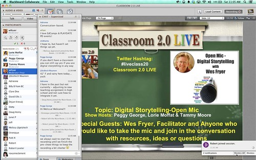 Classroom 2.0 Live Open Mic Show on Digi by Wesley Fryer, on Flickr