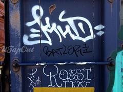 (UTap0ut) Tags: california art cali graffiti la los paint angeles roast socal cal graff 663 batle 663k knd utapout