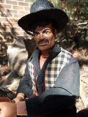 Butch Cavendish (atjoe1972) Tags: gabriel vintage movie toys actionfigure tv cowboy retro 1970s seventies wildwest frontier outlaw loneranger oldwest butchcavendish atjoe1972