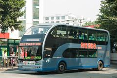 你好,双层巴士/Hello, Double-decker (KAMEERU) Tags: guangzhou bus public transportation doubledecker sj6110bebshu