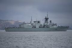 HMCS Calgary 1 (dcnelson1898) Tags: sanfrancisco sanfranciscobay frigate blueangels fleetweek presidioofsanfrancisco canadiannavy hmcscalgary