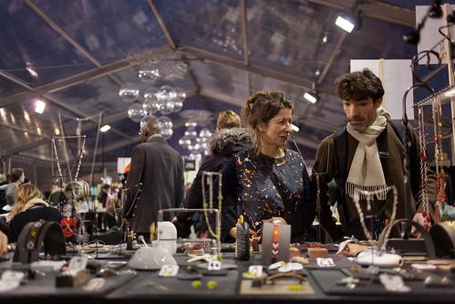C'est un marche de Noël qui a pour but de faire découvrir les talent des artisans créateurs du territoire © M. RONDEL