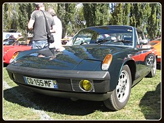 VW Porsche 914 (v8dub) Tags: auto old classic car vw volkswagen automobile automotive voiture german porsche oldtimer oldcar coupé collector aircooled 914 youngtimer wagen pkw klassik worldcars