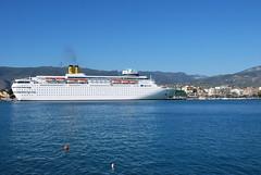 Costa Classica_0705 (Kostas Menounos) Tags: sea port greece cruiseship kalamata messinia