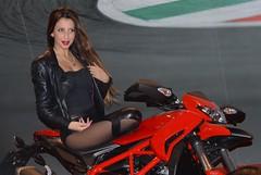 Eicma 2014 Model (115) (Pier Romano) Tags: woman sexy girl beautiful model legs milano babe moto belle hostess bella bellezza fiera gambe ciclo esposizione rho 2014 ragazze modelle eicma