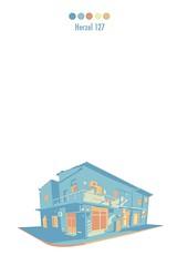 (yanivco) Tags: house color building home israel telaviv south illustrator vector architicture yanivcohen buildtlv
