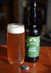 Buxton Axe Edge IPA (Mike Serigrapher) Tags: india beer buxton ale pale brewery edge axe