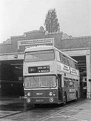 Storyboard 1: West Midlands Travel Fleetline Strongholds (CovkidAl) Tags: travel west bus green birmingham lane fox 1978 31 gospel 1990 daimler leyland fleetline midlands mcw hollies pte 6891 acocks tvp891s
