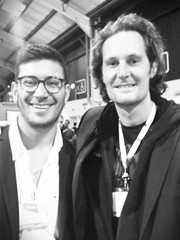 We are MakeitAlive  At Dublin  web summit with SoundCloud's founder