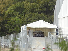 Miscavige's Private Entrance (Mr Cheerful) Tags: scientology cult anonymous ias eastgrinstead sthill ias2014