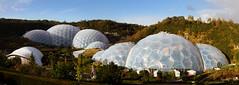 The Eden Project (Wozza_NZ) Tags: plants gardens project garden cornwall dome scifi eden domes enviromental enviroment biome