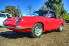 1966 Fiat 1000 Spyder Abarth (dmentd) Tags: fiat spyder 1966 1000 abarth
