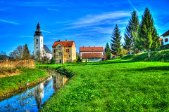 Country scene (malioli) Tags: house rural canon village country croatia hdr hrvatska countryscene
