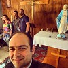 #selfie in preparation for #Rosary #prayers @ #UNIFIL #StBarbara #Church #Lebanon #Naqoura with best colleagues #YoussefSfeir