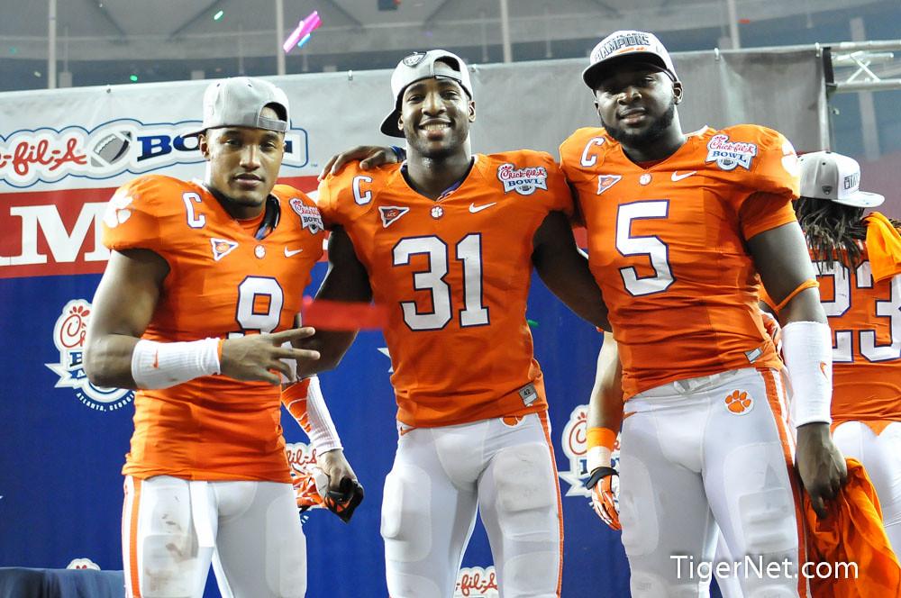 Clemson Photos: 2012, Bowl  Game, Football, Jonathan  Meeks, lsu, Rashard  Hall, Xavier  Brewer