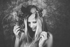 Foxglove Florals (alwaysgenevieve) Tags: ocean california beach october 50mm14 malibu socal elmatador 2014 flowerwreath flowercrown southerncalfornia headwreath marklll genevieveelaine genevieveelainephotography vscofilm genevieveanders foxgloveflorals
