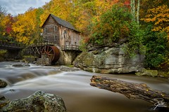 Glade Creek Grist Mill (Frank Kehren) Tags: autumn fall mill canon westvirginia 24 f11 gladecreek babcockstatepark gladecreekgristmill landisburg nd10 tse24mmf35lii leebigstopper canoneos1dx