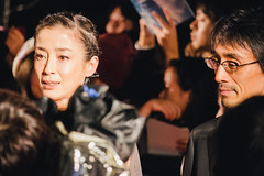 27th Tokyo International Film Festival: Miyazawa Rie & Yoshida Daihachi from Pale Moon