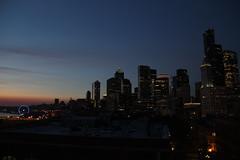 downtown seattle at night #ilobsterit