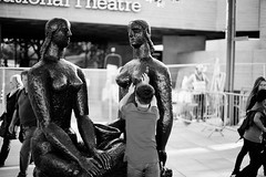 The boy boobed again! (Adeypoos) Tags: street boy blackandwhite bw sculpture art thames museum bronze nude boobies breasts tits nipples child boobs candid statues southbank streetphoto casts femaleform canoneos6d stphotographia streetlevelphoto streettogs adrianpollardstreetphotography