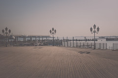 DOHA 09.2014 (Bony Nguyen) Tags: beach strand port hafen wste doha quatar artistsontumblr lensblr photographersontumblr fujifilmx100s