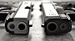 9MM vs .45ACP (mitsujdm) Tags: gun pistol 9mm glock firearm 45acp g30 g19