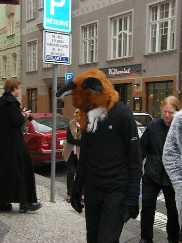 Fursuit Halloween Outing Prague 2014