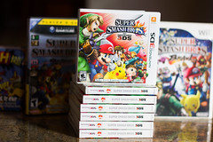Super Smash Bros. for 3DS (FaruSantos) Tags: nintendo mario games videogames zelda jogos 3ds supersmashbros smashbros