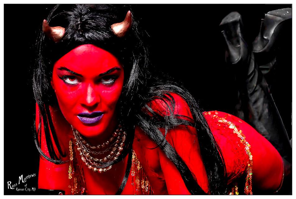 Blue Devil Halloween Costume