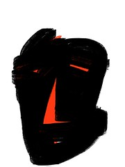 2014.09.19 Mask of Evil (Julia L. Kay) Tags: sanfrancisco woman art mobile female digital sketch san francisco artist arte julia kunst kay daily dessin peinture 365 everyday dibujo touchscreen artista mda fingerpaint artiste knstler iart ipad isketch mobileart idraw fingerpainter juliakay julialkay iamda mobiledigitalart fingerpainterouchdigitalmdaiamdamobile