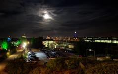 Moon over Munich (SGO Photography by StG) Tags: moon night munich mnchen bayern bavaria mond nacht munichnight