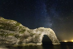 Milky Way over Durdle Door (mpelleymounter) Tags: night stars nightsky milkyway durdledoor