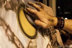 il Limite della Luna (Siro Tolomei) Tags: italia colore luna pisa pacman toscana biro tela acrilico pittura marinadipisa livepainting pastelli gessetti fuorionda sirotolomei francescozavattari universoinstabile