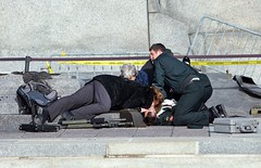 Canadian Forces soldier shot at National War Memorial in Ottawa, Wednesday, Oct. 22, 2014. (Canadian Forces Photos - Forces canadiennes photos) Tags: soldier attack police weapon terrorism shooting rcmp parliamenthill firstaid nationalwarmemorial nationaldefence tacticalteam caporalericgirard